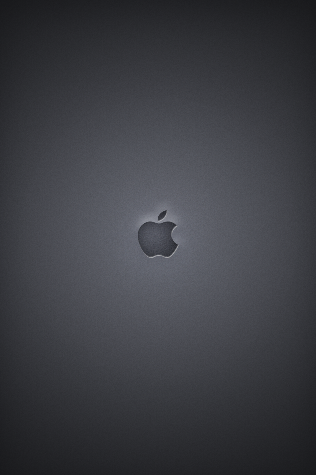 apple logo wallpaper. Black Apple Logo