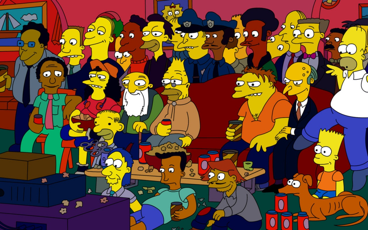 Most Simpsons Characters