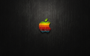 Apple: Black Leather