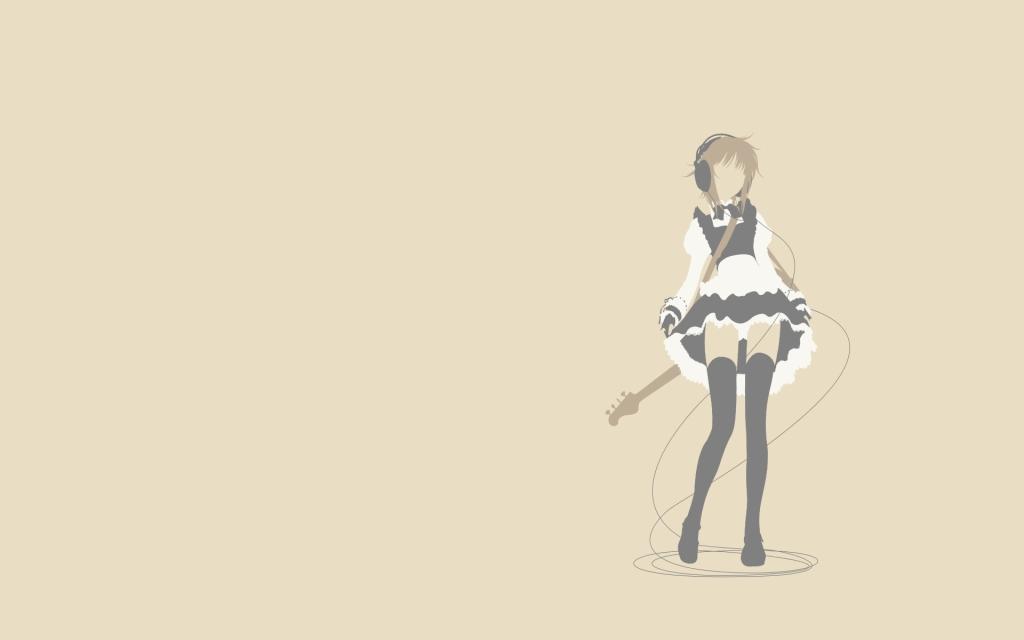 hd wallpaper guitar. Girl With Guitar wallpaper