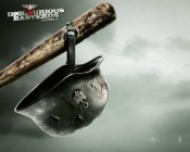 Inglourious Basterds - Bat and Helmet
