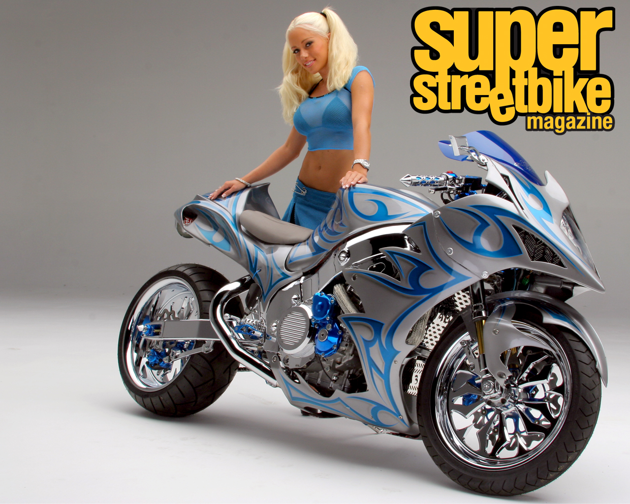 Super Street Bike Wallpaper