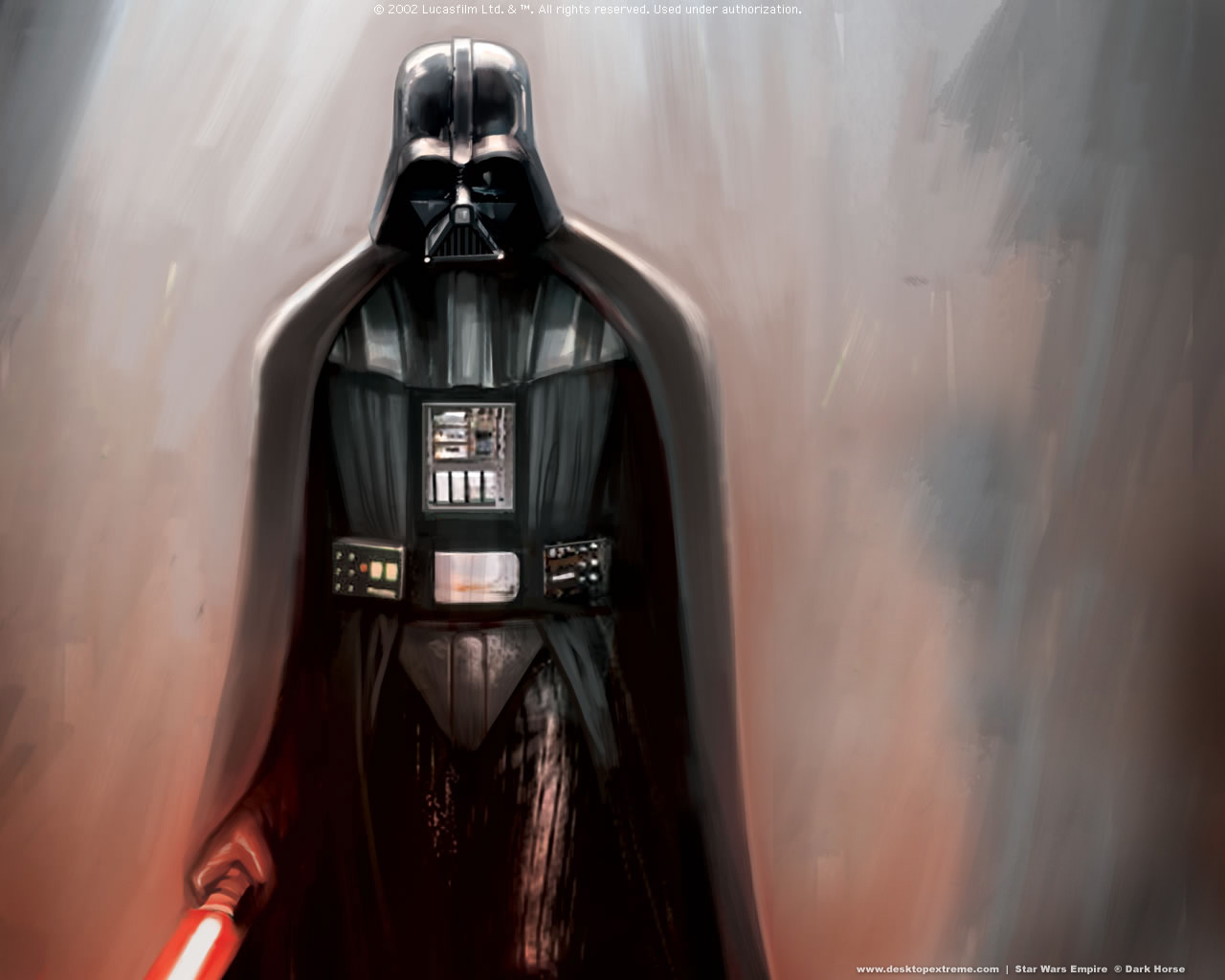 3D Darth Vader 1280x1024