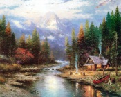 Thomas Kinkade - Hunters Hunt