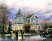 Thomas Kinkade - Guests Arrived