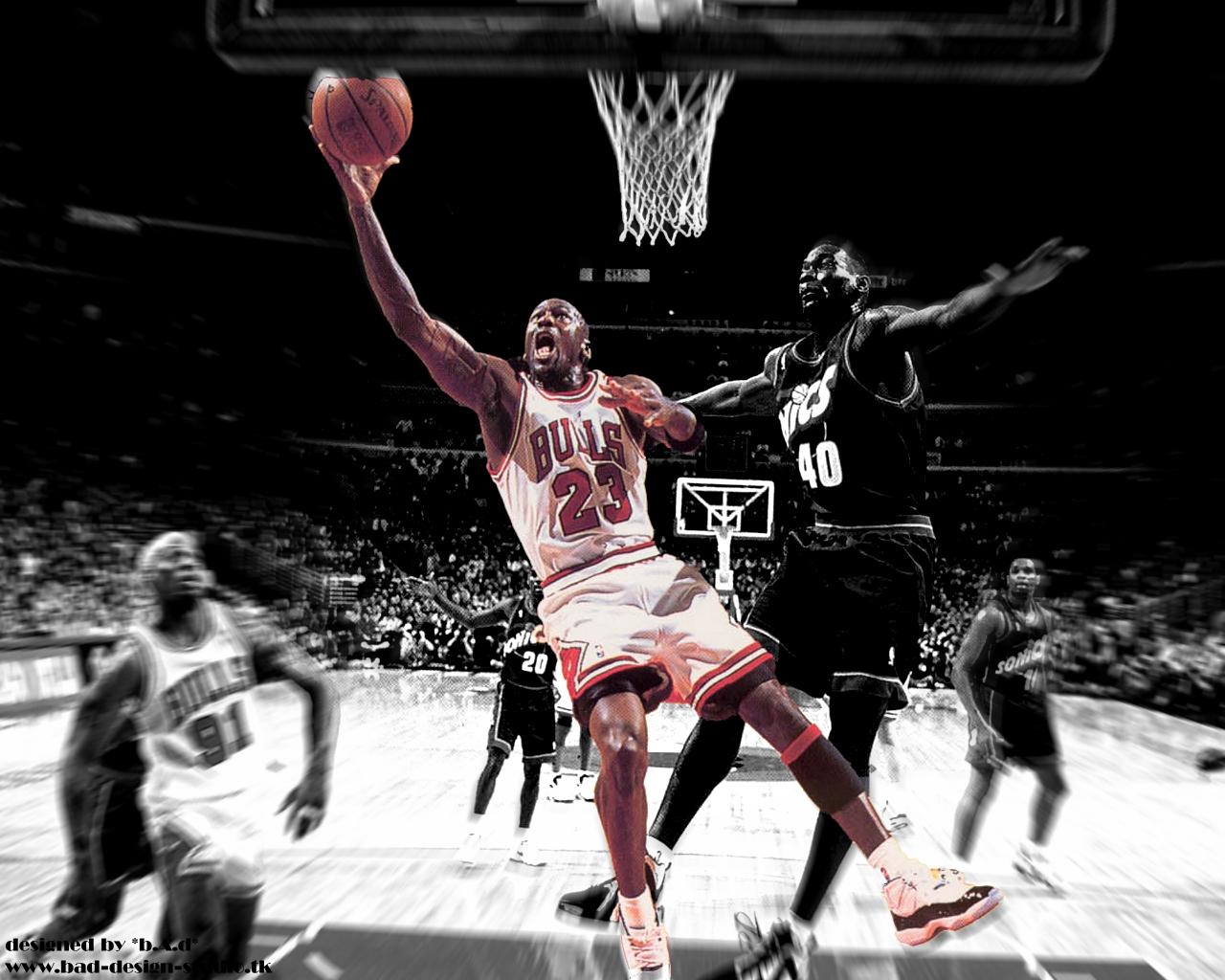 Basketball 23 Michael Jordan