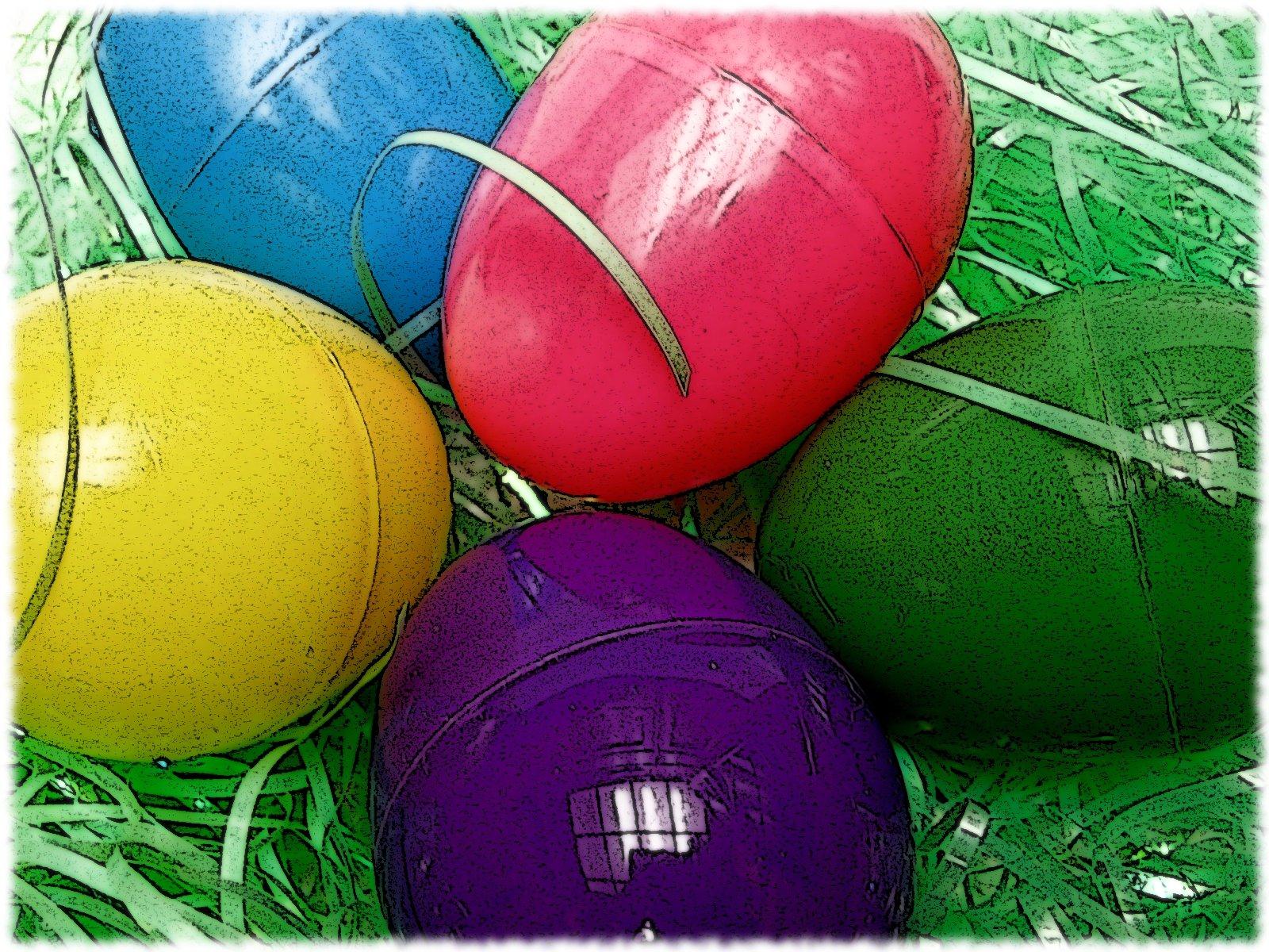 Religion / Bright Easter Eggs #4364