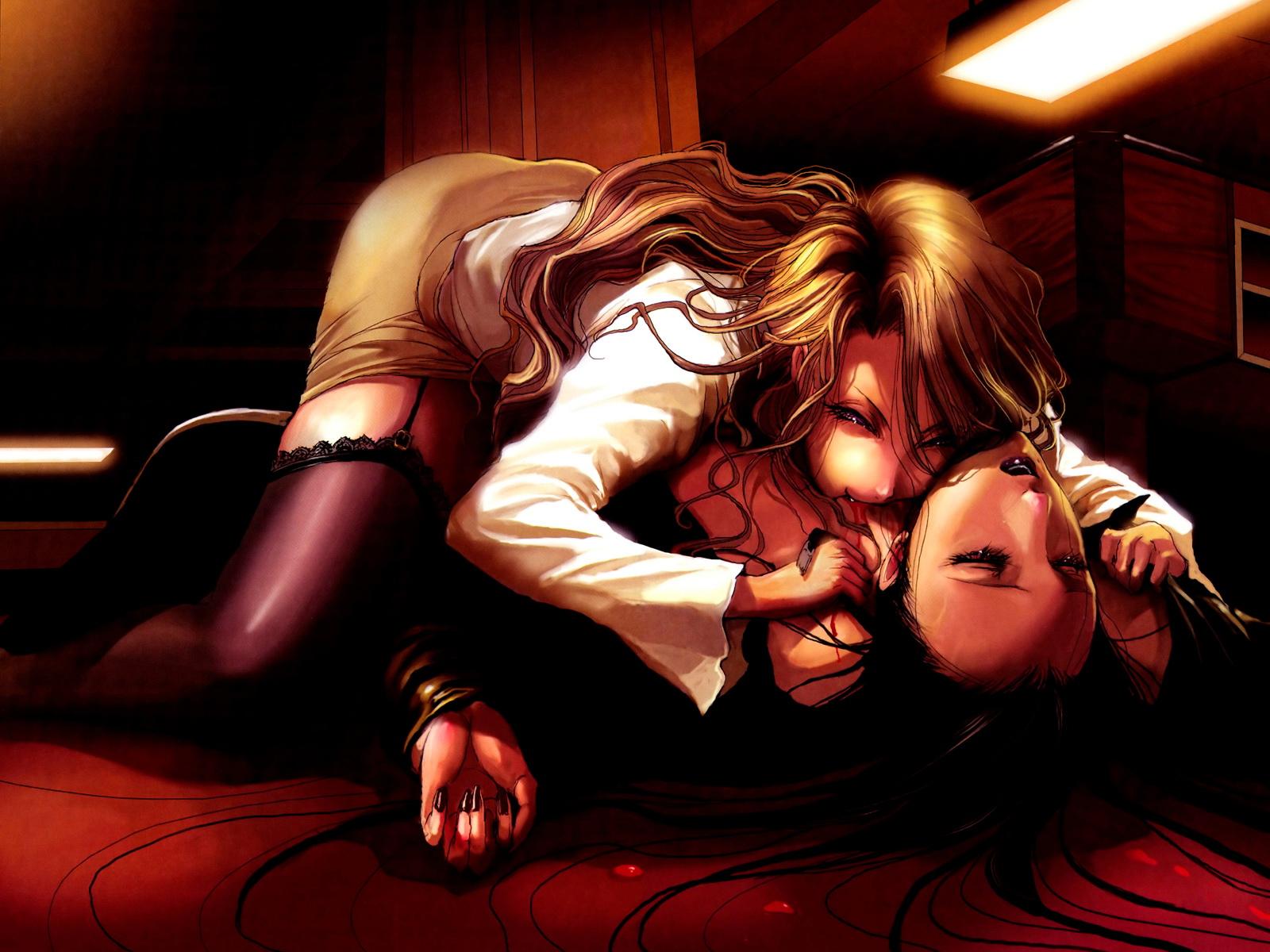 La taverne de la non-vie - Page 2 Vampire_girl_anime_wallpaper