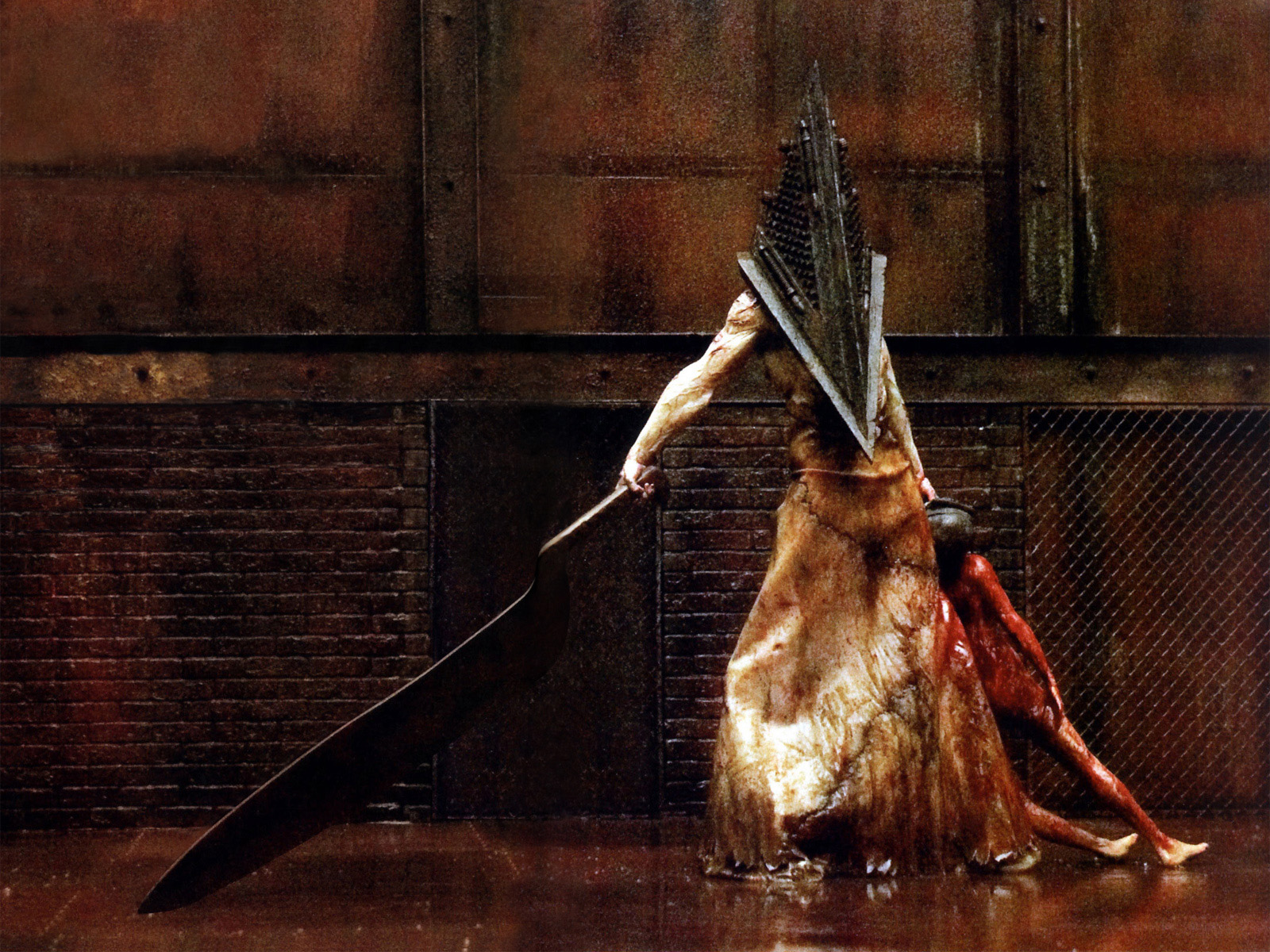 Silent Hill - Pyramid Head 1600x1200 wallpapers download - Desktop ...
