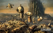 Machinarium - Cover china