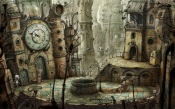 Machinarium - Plaza china