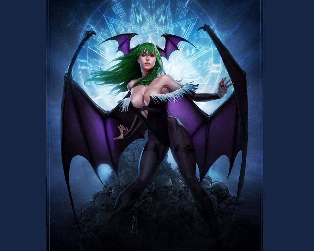Night Warriors - Darkstalkers Revenge #6274 / Good-Wallpapers.com