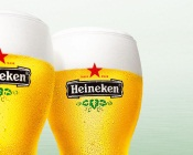 Glasses With Heineken Beer