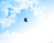 Balloon in Summer Sky