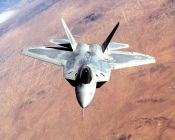 F22 Raptor in Flight