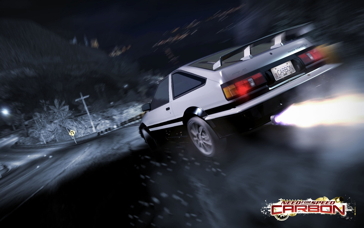 Toyota Corolla Ae86 Nfs Carbon 8022 Good Wallpapers Com