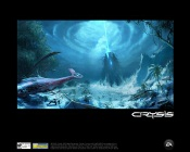Crysis - space alien-constructed structure buried inside a mountain