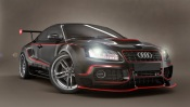 Audi Black and Red Tuning