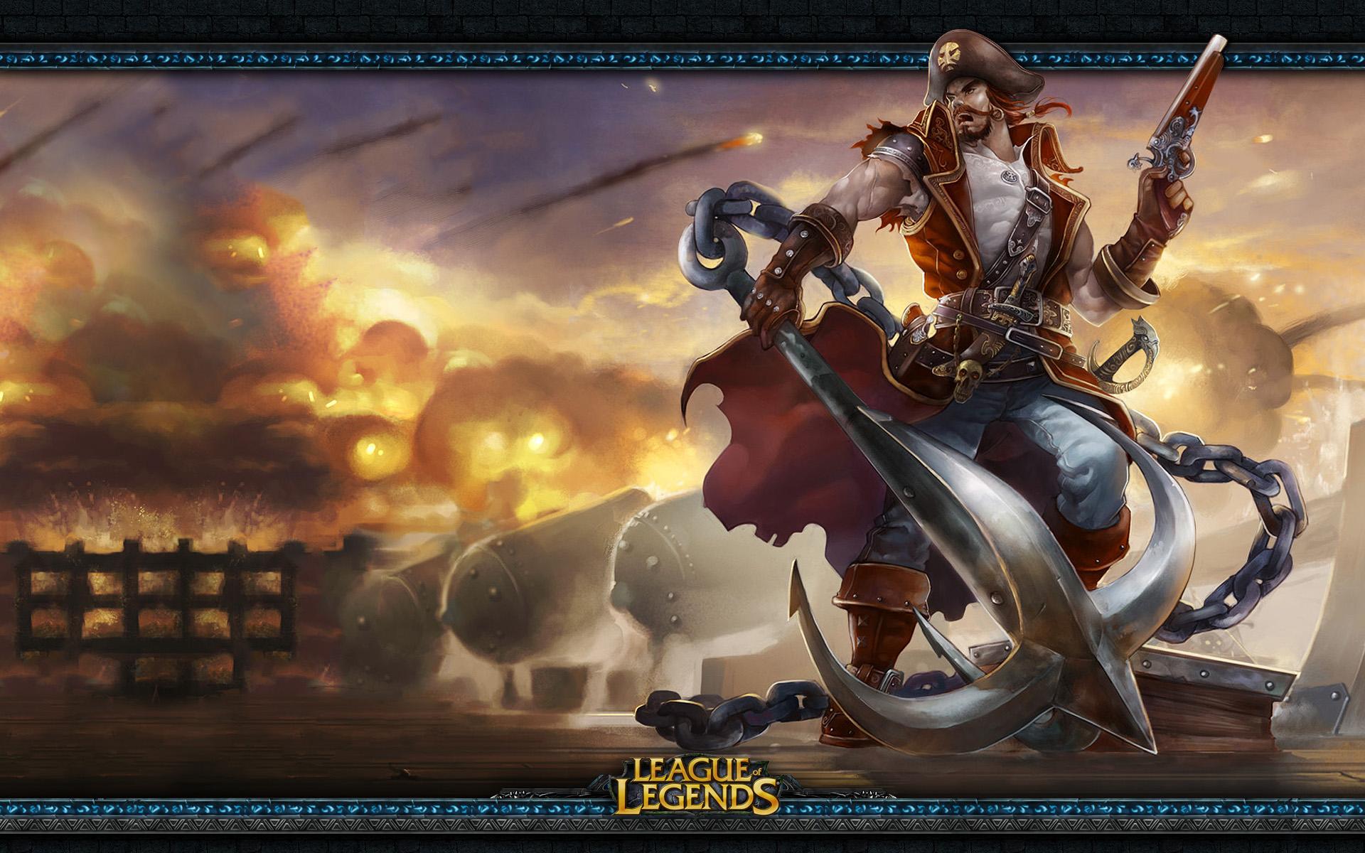 League of Legends Gangplank