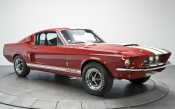 Red Shelby Mustang GT 500