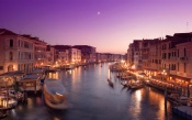 Purple Evening in Venice